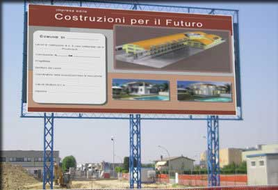 cartellone cantiere